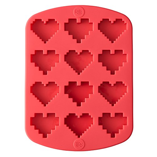 Wilton 2115-4374 Rosanna Pansino - Molde de silicona para caramelos, color rosa