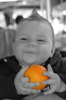 Introducción de la fruta en el bebé