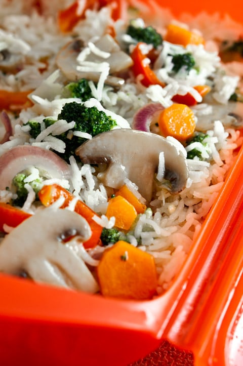 arroz microondas