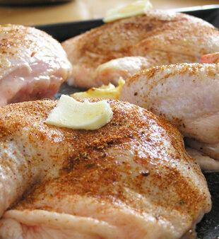Pollo asado adobado