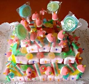 tarta de chuches