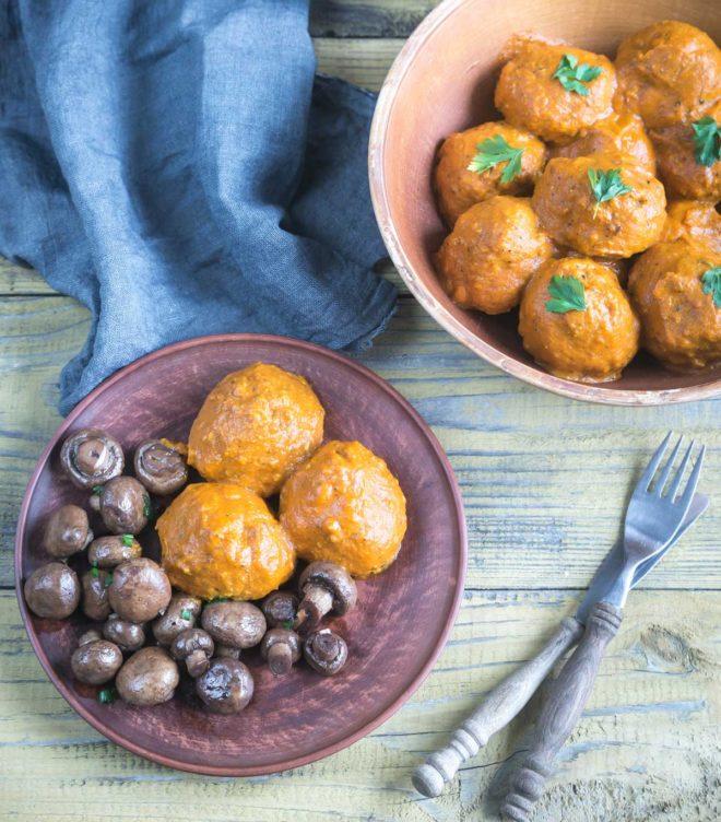 albóndigas de pavo en salsa receta