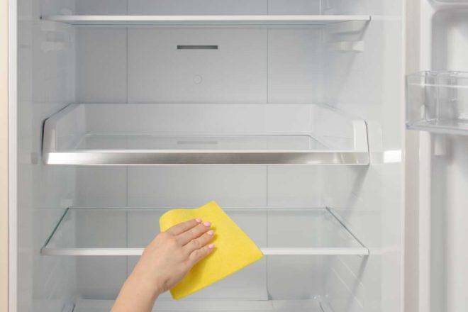 limpiar el frigorifico antes de vacaciones