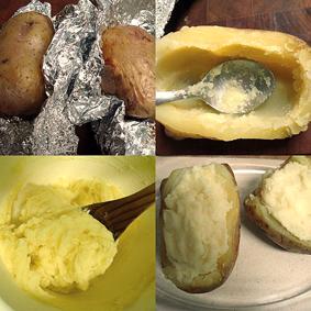 patatas rellenas para niños