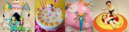 tartas de cumpleaños fantasia