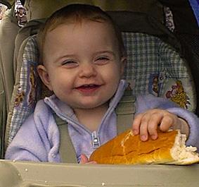 alimentacion infantil pan