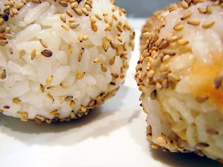 recetas japonesas bolas arroz