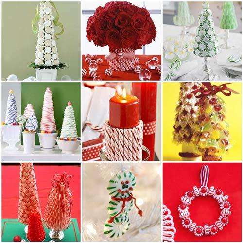 decoracion navideña comida