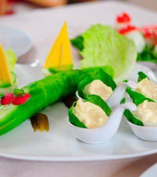 ensaladas para niños