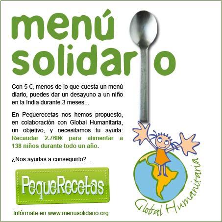 menu solidario