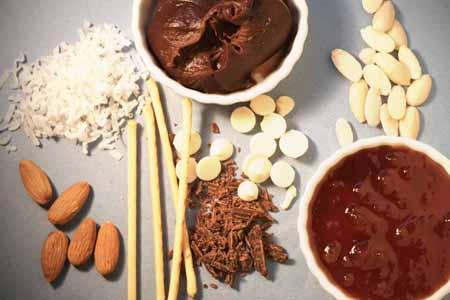 ingredientes para un postre