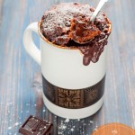 bizcocho microondas mug cake