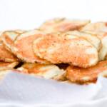 Patatas fritas en microondas