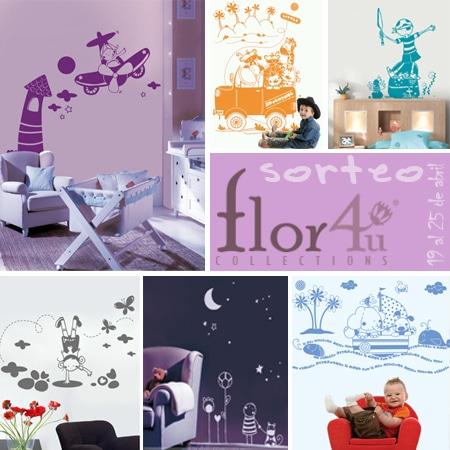 Gana un precioso vinilo decorativo de flor4u en este for Donde se compran los vinilos decorativos