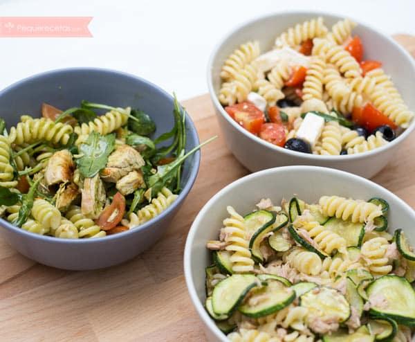 Ensalada de pasta 10 recetas f ciles para sorprender - Como se hace la salsa pesto para pasta ...