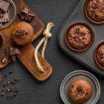 Los muffins de chocolate PERFECTOS (receta de muffins con doble chocolate)
