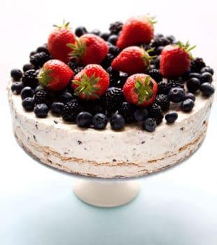Tarta helada de merengue