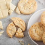 como hacer galletas de chocolate blanco