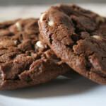 Galletas de chocolate ¡con chispas de chocolate blanco!