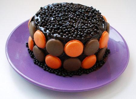 Tarta de cumpleaños de macarons