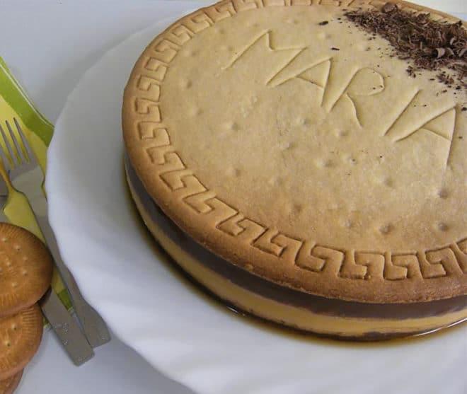 tarta de galletas maria receta