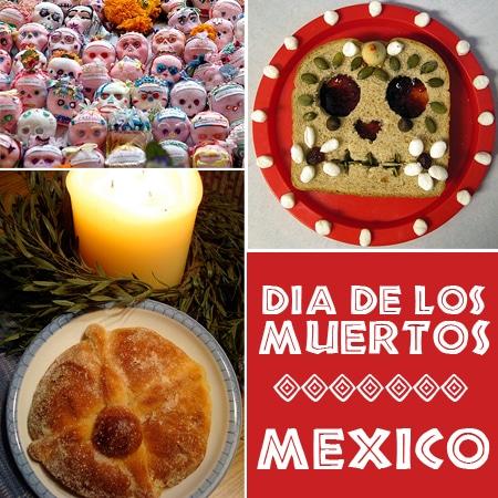 Recetas Dia de Muertos Mexico
