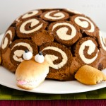 La tortuga Gertrudis, una tarta de cumpleaños famosa