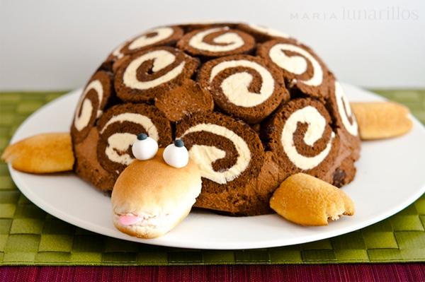 Tarta tortuga gertrudis