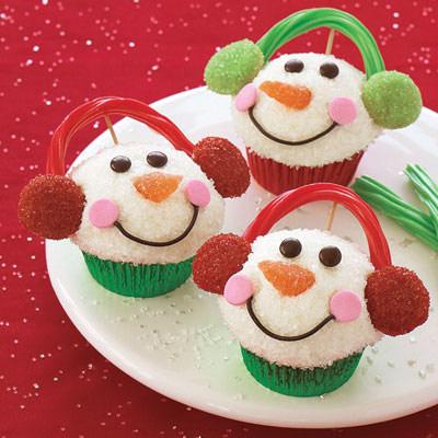 Capcakes de Navidad