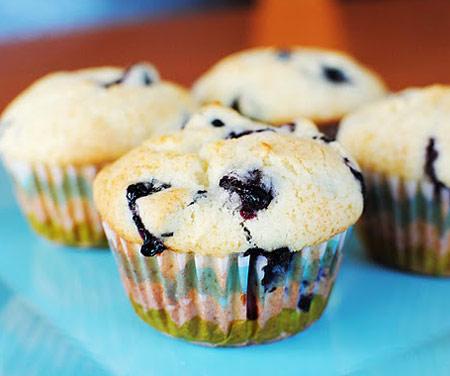 Resultado de imagen para muffins de arandanos