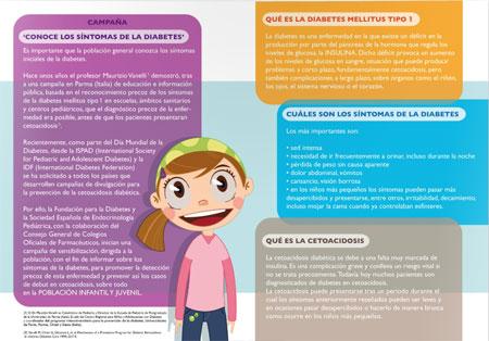 Síntomas Diabetes Infantil