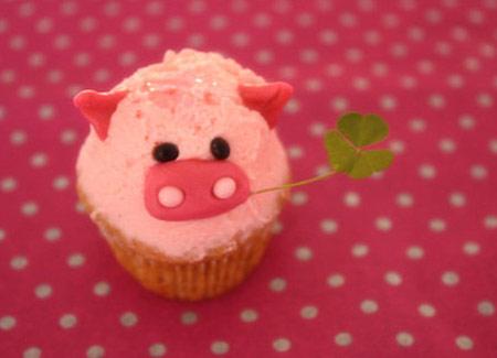 cupcake cerdito