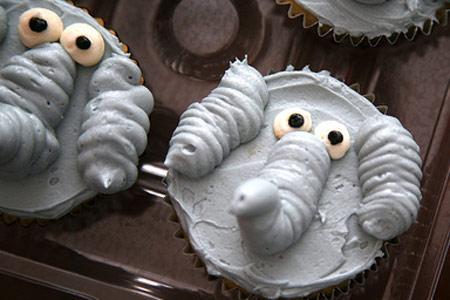 Cupcake e elefante