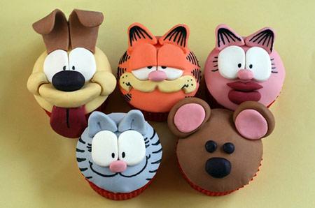Cupcake G Garfield