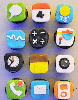 Cupcake i iPhone