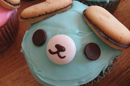 Cupcake Oso