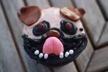Cupcake Perro