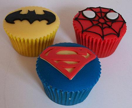 Cupcake superheroes