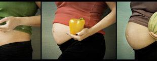Embarazo frutas y verduras