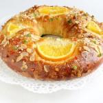 Roscón de Reyes sin huevo ni leche, especial alergias