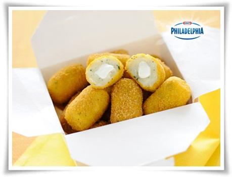 Croquetas de patata con Philadelphia