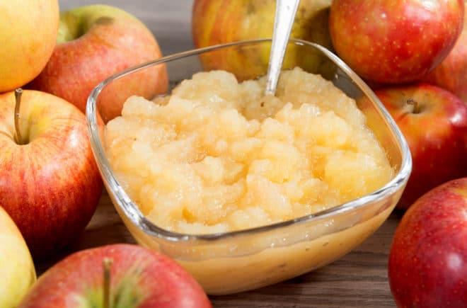 compota de manzana receta fácil