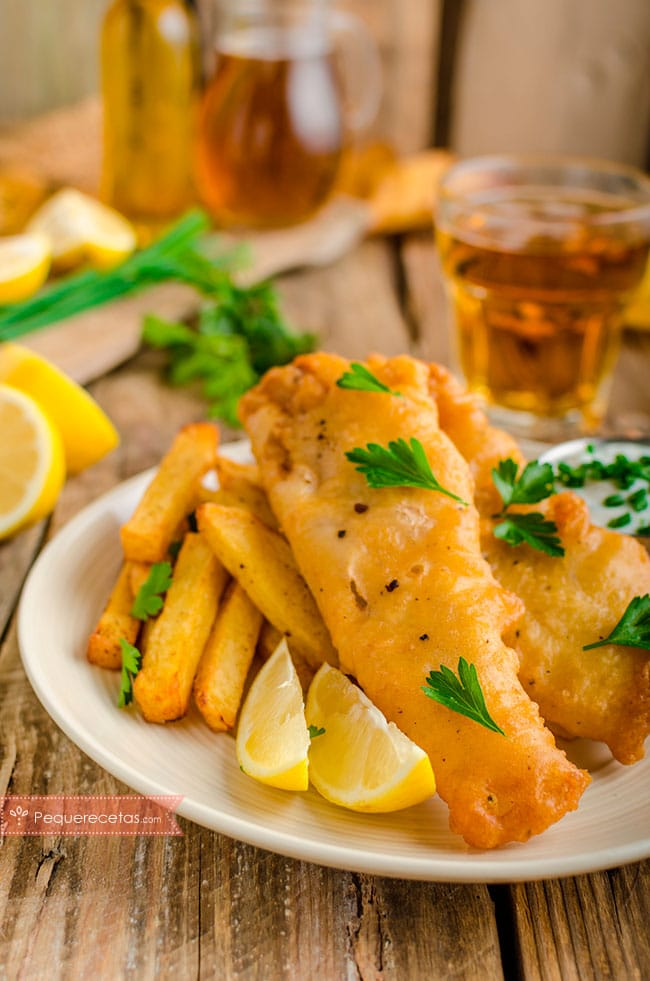 fish and chips receta