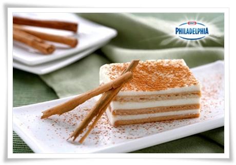 Tarta de Philadelphia con cuajada