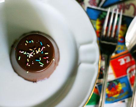 flan de chocolate receta