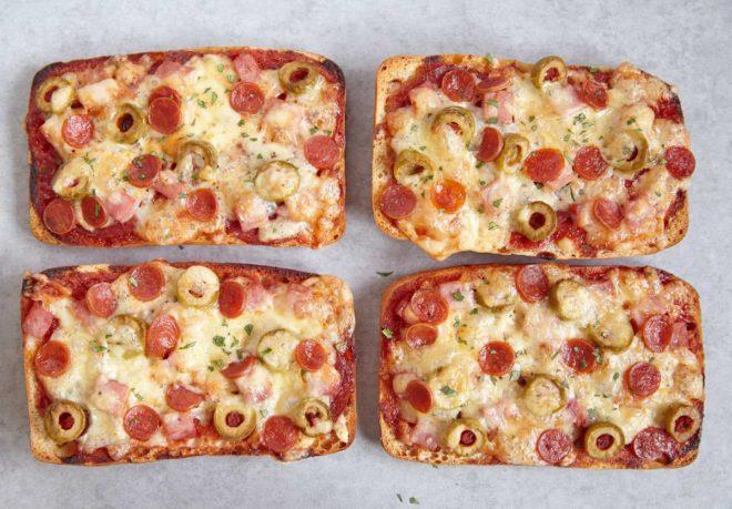 pan pizza paninis caseros