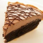 Una tarta muy fácil de Nocilla y Brownies