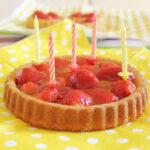 Tarta de fresas, una tarta fácil y rápida