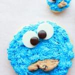 Receta galletas el Monstruo de las galletas