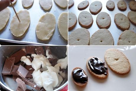 Galletas de chocolate fiesta
